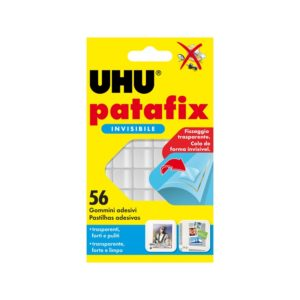 Patafix UHU invisibile 56pz