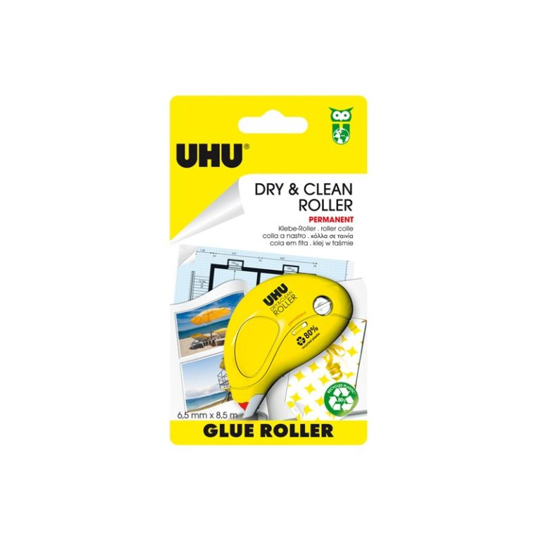 UHU Dry & clean roller 8.5mt