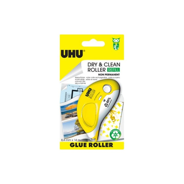 UHU Dry & clean roller non permanente